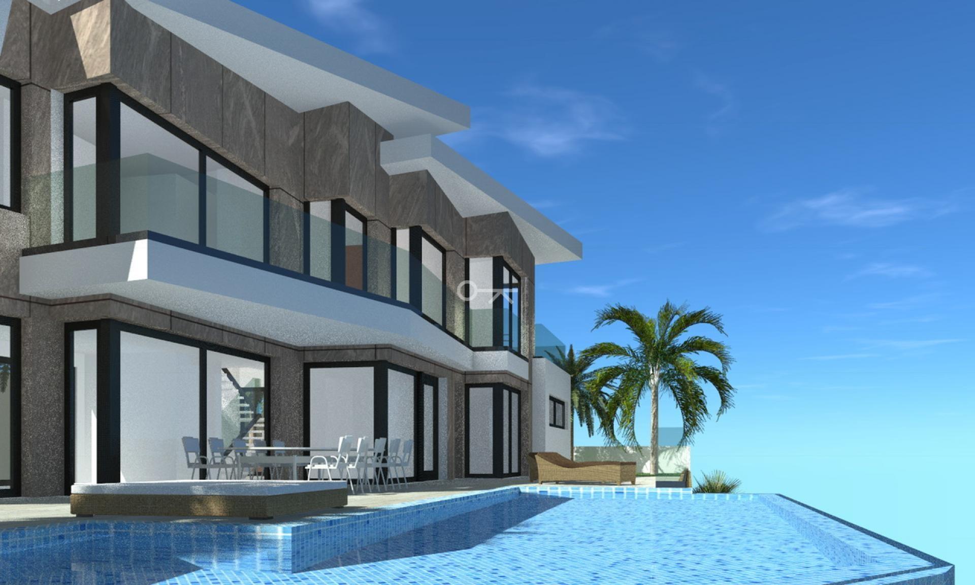 Luxueuze nieuwbouwvilla in Calpe