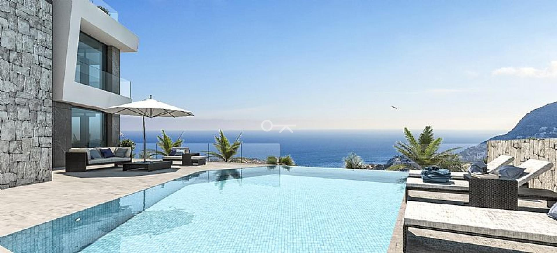 Lichtrijke luxevilla te koop in Calpe