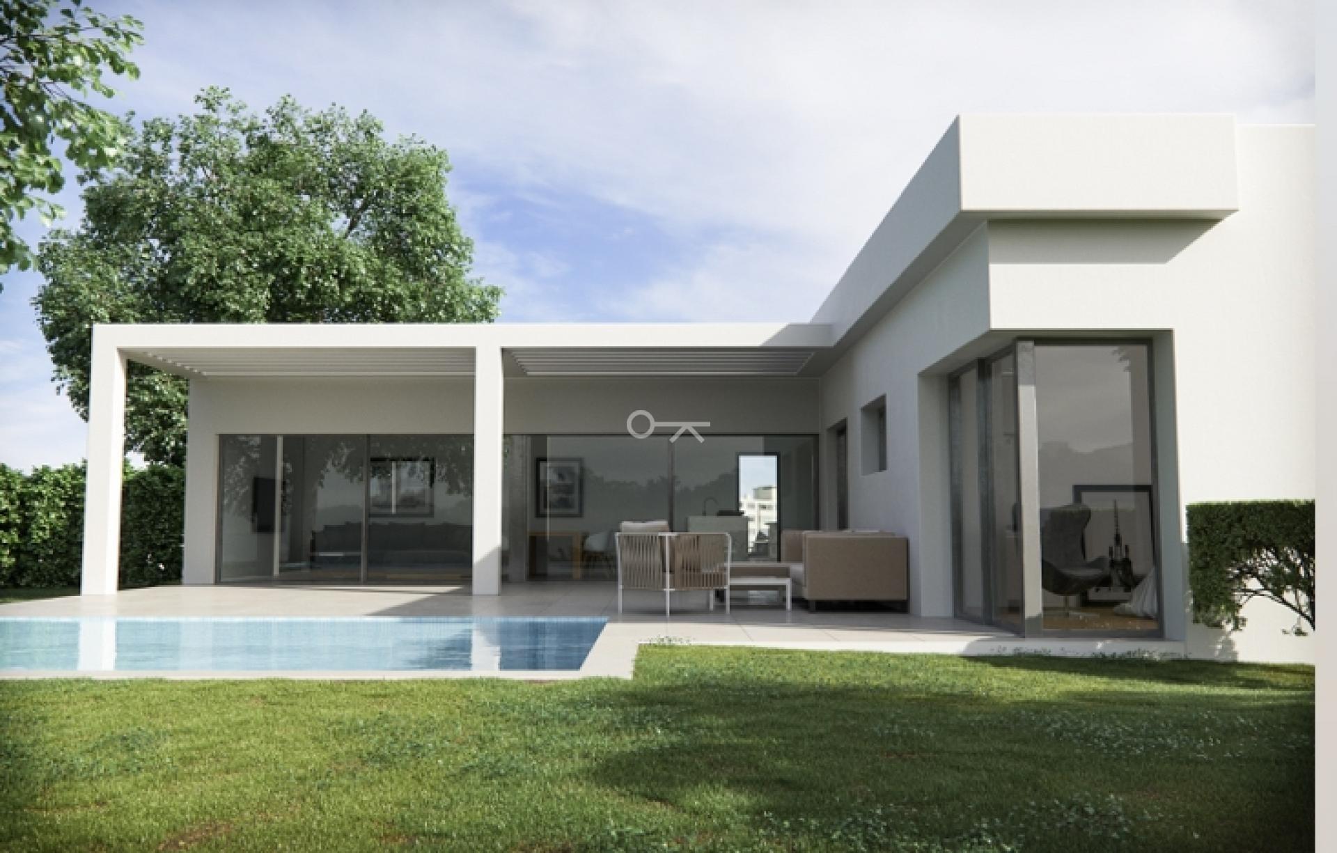 Moderne villa met zwembad in Calpe