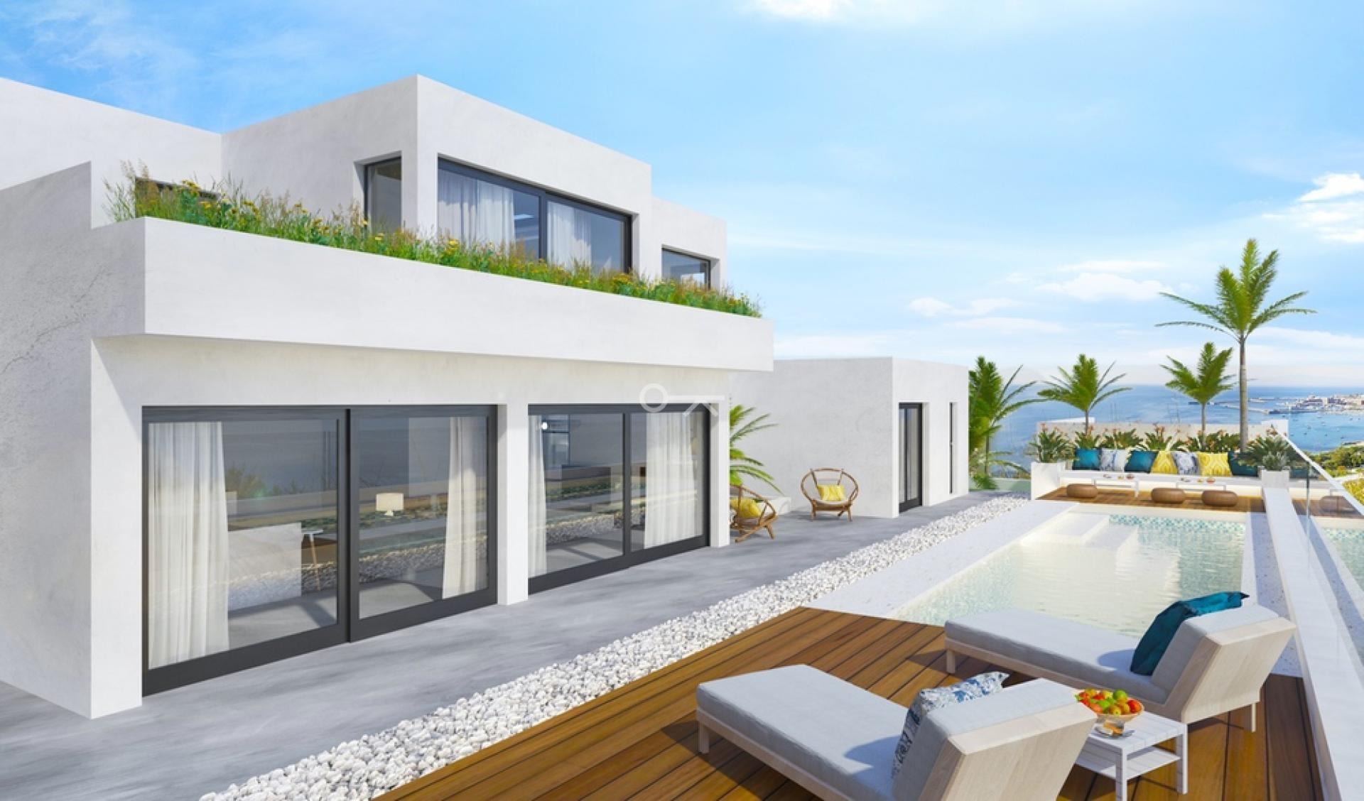 Moderne designvilla in Finestrat
